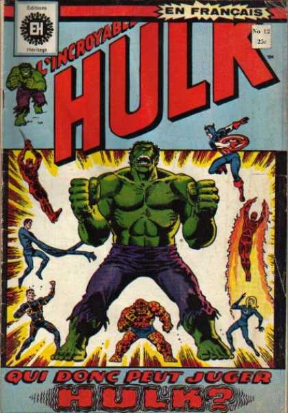Hulk (French) 12