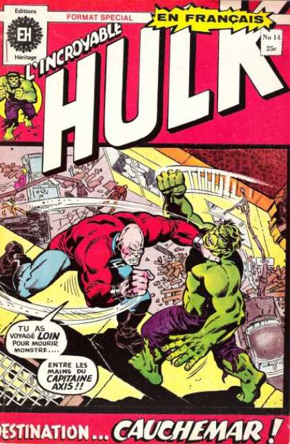 Hulk (French) 14