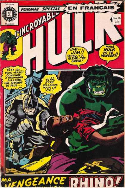 Hulk (French) 16
