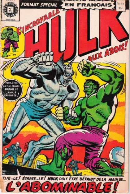 Hulk (French) 18