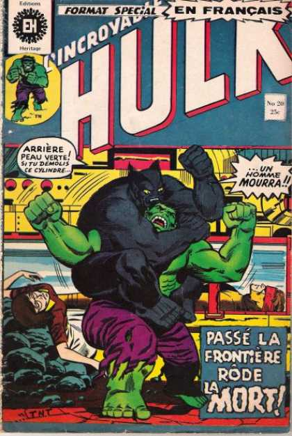 Hulk (French) 20