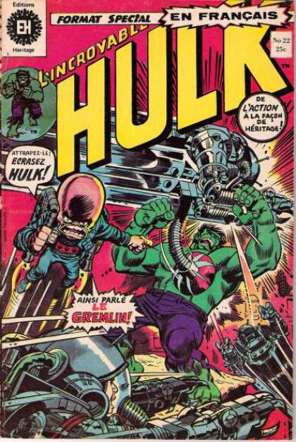 Hulk (French) 22