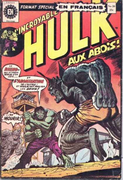 Hulk (French) 30