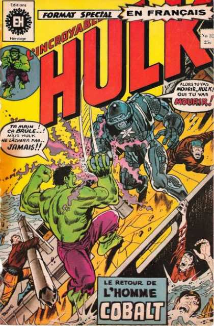 Hulk (French) 32