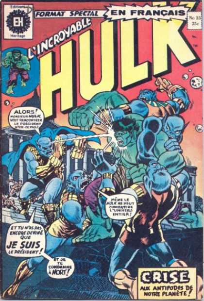 Hulk (French) 35