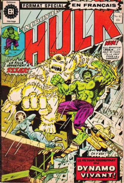 Hulk (French) 42