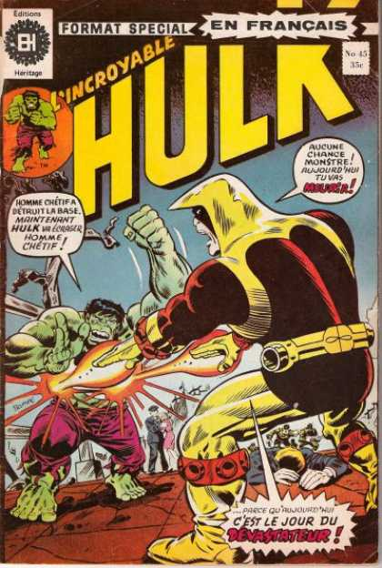 Hulk (French) 45
