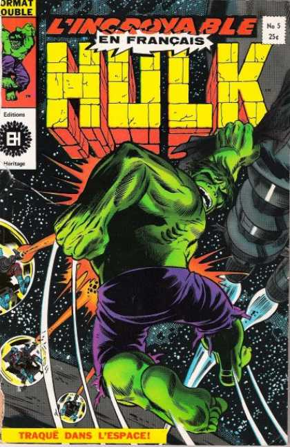Hulk (French) 5
