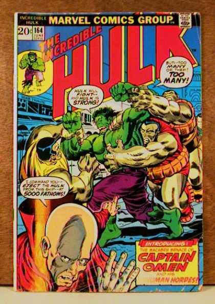Hulk 164 - Captain Omen
