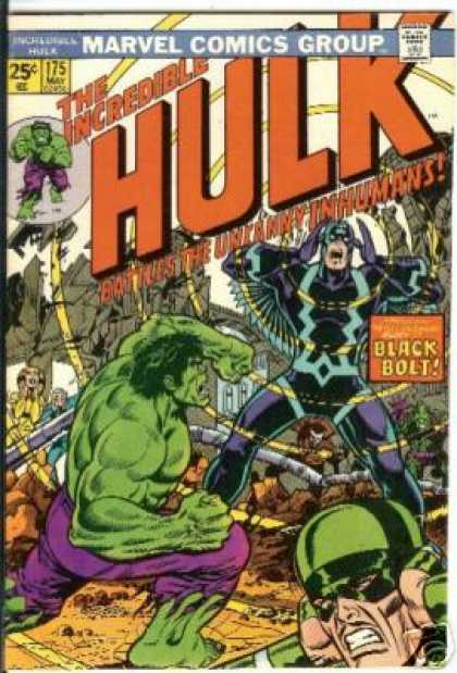 Hulk 175 - Incredible - Uncanny Inhumans - Black Bolt - Loud - Noise