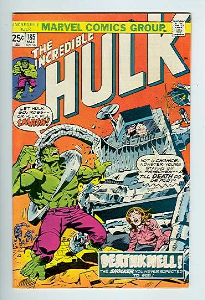 Hulk 185 - Robot - Car - Girl - Steel - Crack