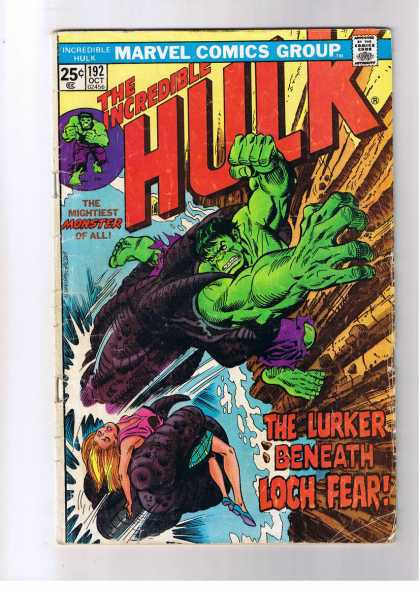 Hulk 192 - Monster - Betty Ross - Woman