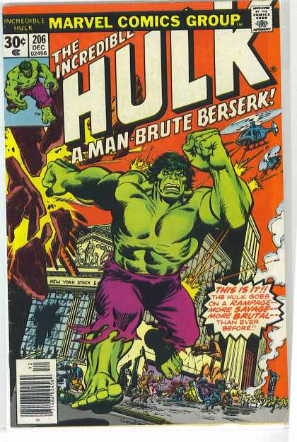 Hulk 206 - Berserk - Incredible Hulk - Dave Cockrum