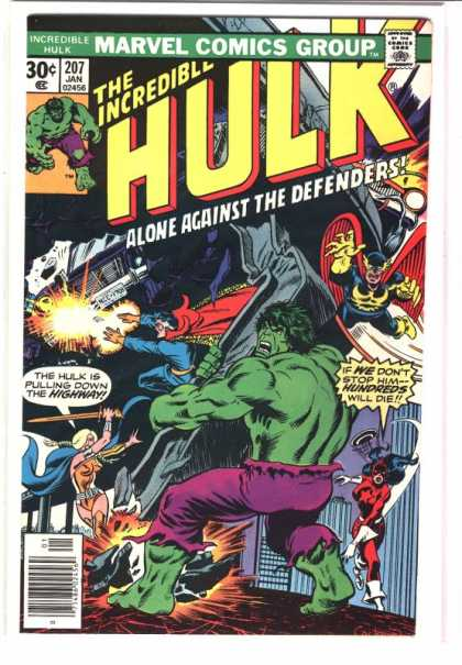 Hulk 207 - Doctor Strange - Superheros - Weapons - Powers - Building - Dave Cockrum