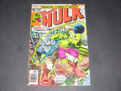 Hulk 209 - Absorbing Man - Wrecking Ball