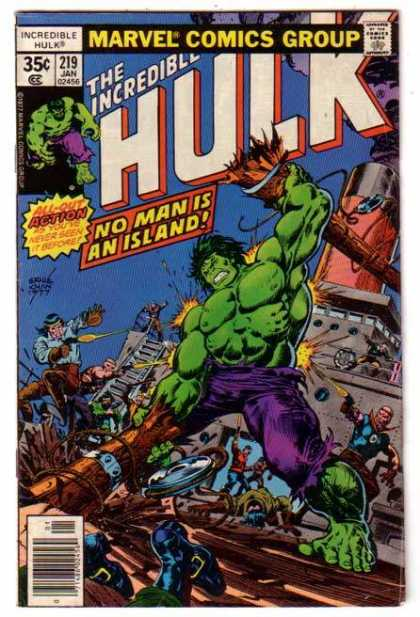 Hulk 219 - Ship - Ladder - Gunfire - Wooden Deck - Green Skin - Ernie Chan