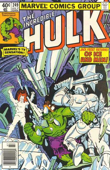 Hulk 249 - Ice Men - Jack Frost