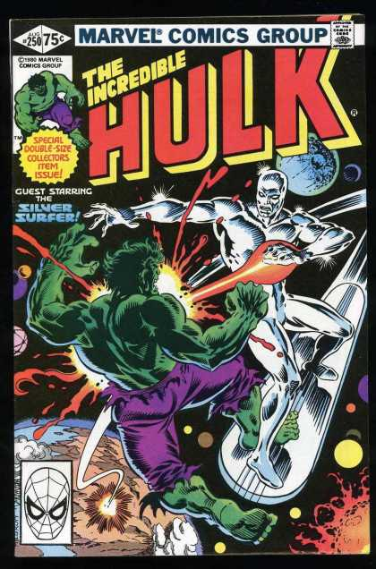 Hulk 250 - Silver Surfer - Space - Marvel - Planets - Spidy