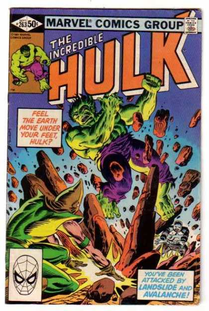 Hulk 263 - Crushing Defeat - Somethin About You Just Ticks Me Off - Eat My Dirt - Feel The Foot Move Under Your Chin - A Time For Dying