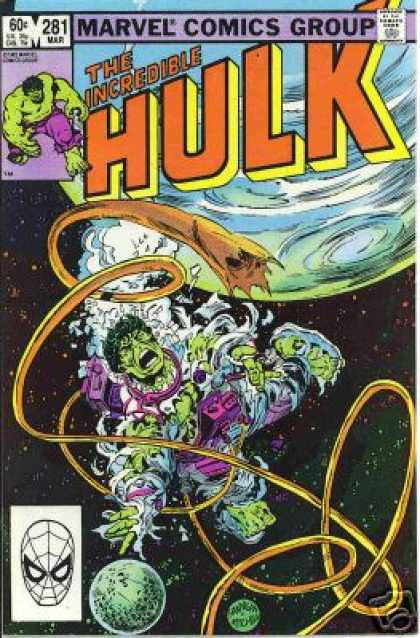 Hulk 281 - Space - Space Suit - Spiderman Mask - Green - World