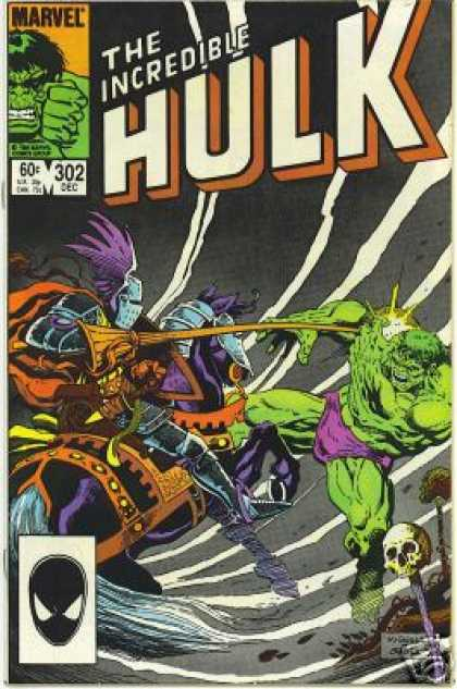 Hulk 302 - Knight - Spider-man - Jousting - Incredible Hulk - Horse - Mike Mignola