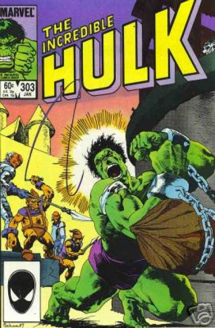 Hulk 303 - Mark Badger