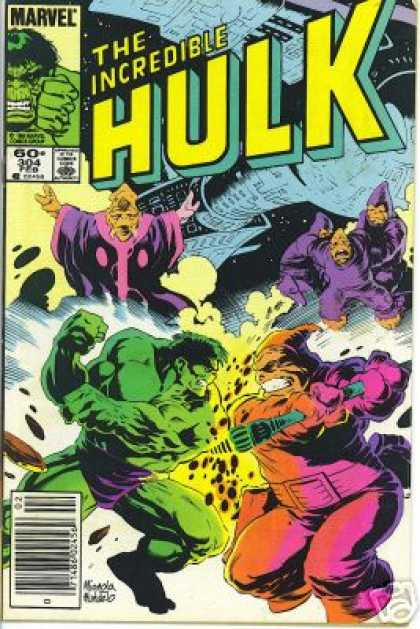 Hulk 304 - The Incredible - Marvel - 60 - 304 - Mike Mignola