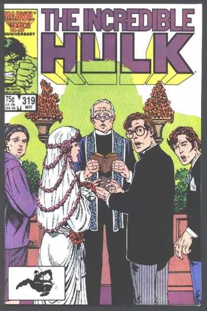 Hulk 319 - Wedding - Bible - Bride - Groom - Priest - John Byrne