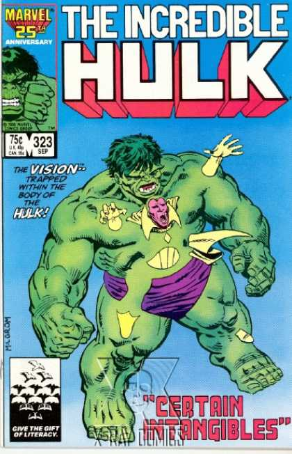 Hulk 323 - Vision - Green - Giant - Purple Underwear - Trapped