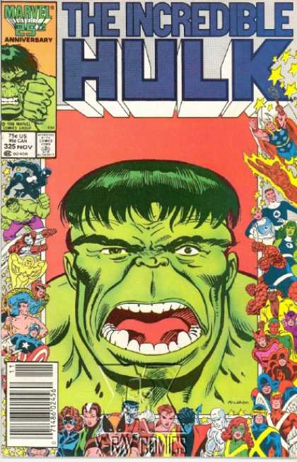 Hulk 325 - Thor - Human Torch - Fantastic Four - Thing - Avengers