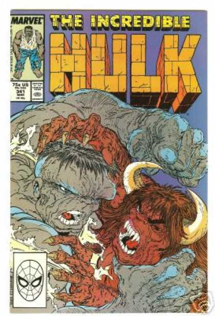 Hulk 341 - Claws - Marvel - The Incredible - Horns - Fangs - Todd McFarlane
