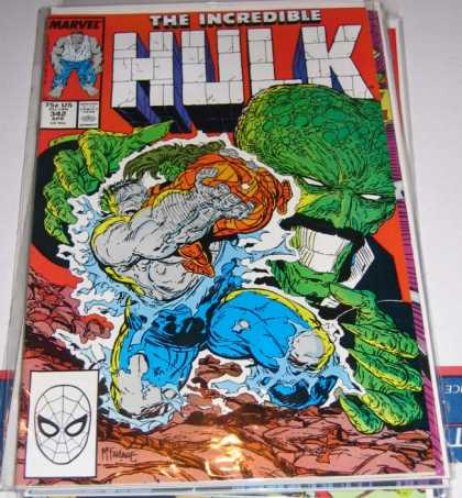 Hulk 342 - Monster - Fire - Soil - People - Smoke - Todd McFarlane