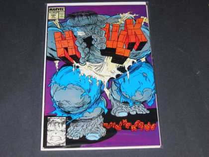 Hulk 345 - Muscle - Green - Letters - Powerful - Break - Todd McFarlane