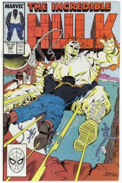 Hulk 348 - Absorbing Man - Bigger Is Not Better - Green Versus White - Dont Chain Me - Going For A Swim - Jeff Purves