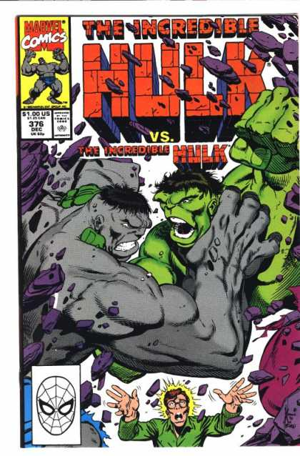 Hulk 376 - Picture Didnt Open - The Closed Book - I Cant See Anything - Where Did It Go - What Happened - Dale Keown