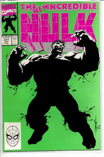 Hulk 377 - Fury - Anger - Muscles - New - Dale Keown