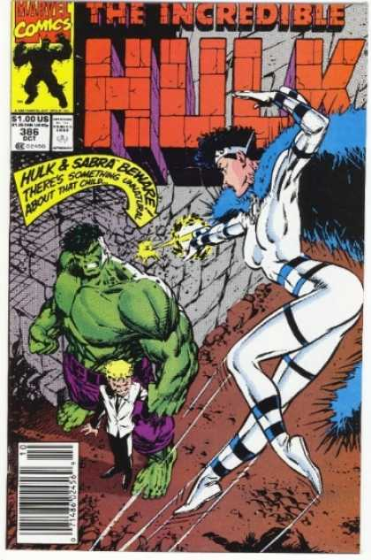 Hulk 386 - Sabra - Marvel Comics - About That Child - The Incredible - Mutant - Dale Keown