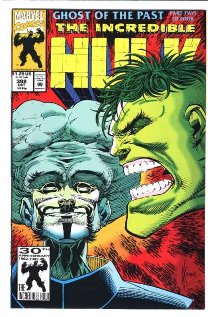 Hulk 398 - Leader - Ghost Of The Past - Part Two Of Four - Marvel Comics - Mutant - Dale Keown