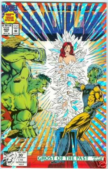 Hulk 400 - Woman In Crystles - The Brain - Green Giant - Red Headed Woman - 400th Issue - Dale Keown