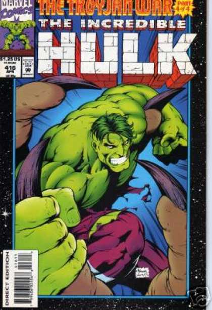 Hulk 416 - The Troyjan War Part 4 Of 4 - Marvel Comics - The Incredible - Giant Man - Super Hero - Gary Frank