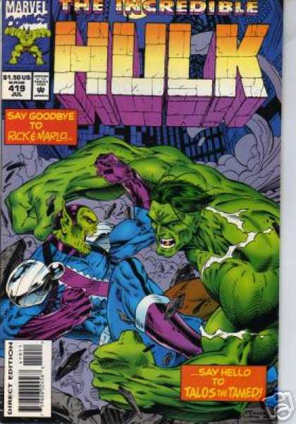 Hulk 419 - Marvel - Superhero - Say Goodbye - Rick U0026 Marlo - Talos The Tamed