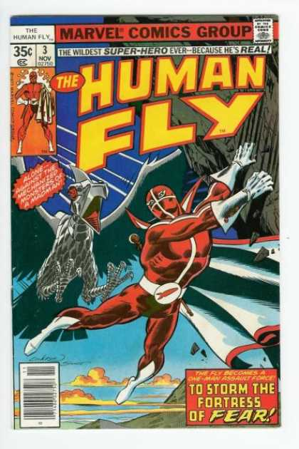 Human Fly 3 - Dave Cockrum, Joe Sinnott