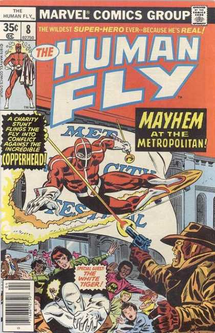 Human Fly 8 - Mayhem - Metropolitan - Copperhead - Met - Charity Stunt