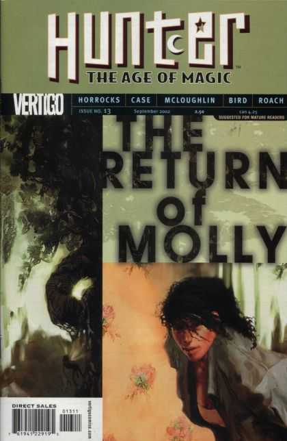 Hunter 13 - The Age Of Magic - The Return Of Molly - Vertigo - Mcloughlin - Horrocks