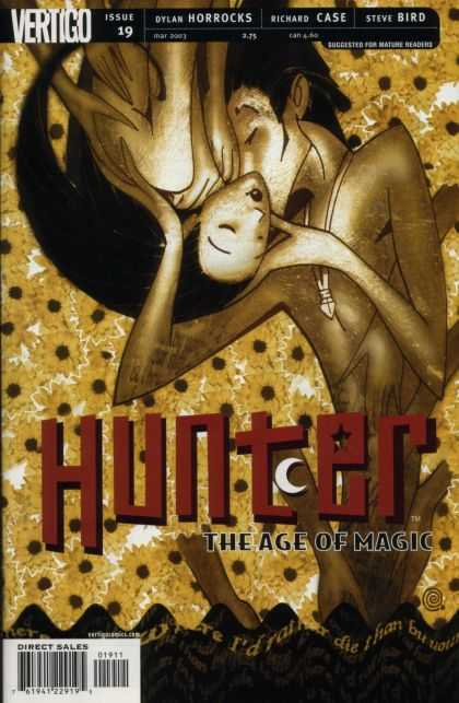 Hunter 19 - The Age Of Magic - Kiss - Upside Down - Dylan Horrocks - Richard Case