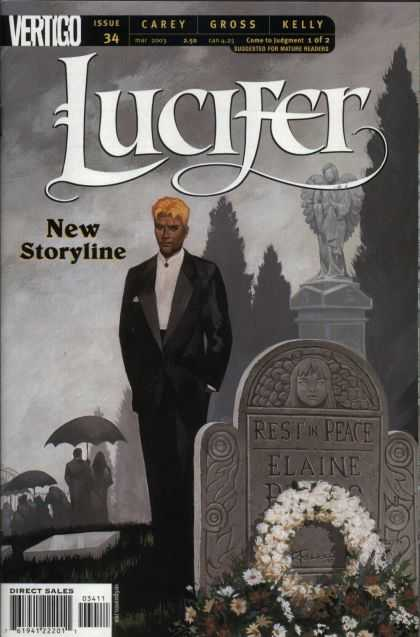 Hunter 34 - Vertigo - New Storyline - Graveyard - Statue - Umbrella
