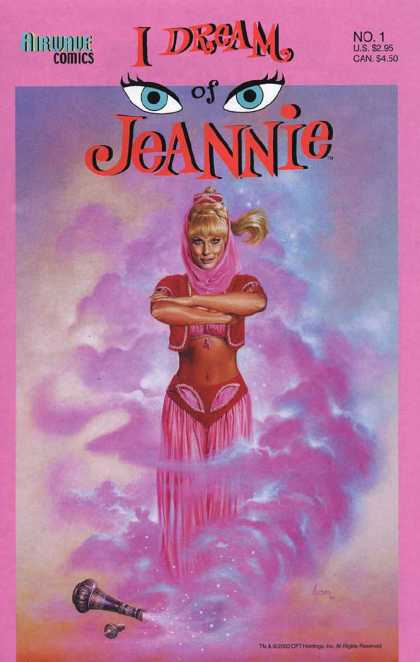 I Dream Of Jeannie 1 - Airwave - Eyes - Angel - Light - One Woman - Joe Jusko