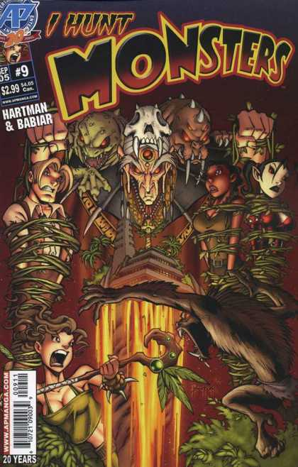 I Hunt Monsters 2 9 - Voodoo - Captured - Evil - Magic - Sorcerer