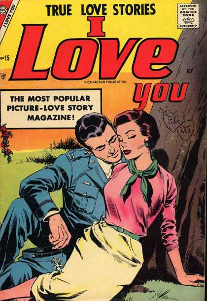 I Love You 15 - True Love Stories - I Love You - Couple - Most Popular Picture-love Story Magazine - Tree