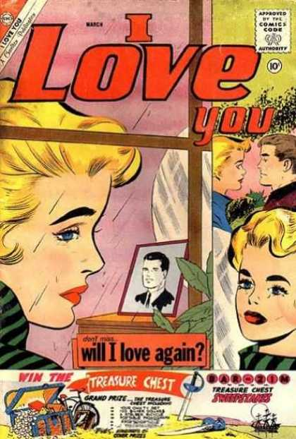 I Love You 33 - Treasure Chest - Approved By The Comics Code Authority - Will I Love Again - Grand Prize - Cycle
